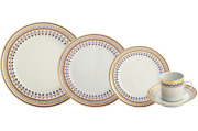 Chinoise Blue By Mottahedeh 5 Piece Place Setting, Brand New