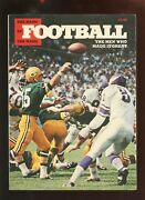 1972 Nfl Football The Men Who Made It Great Booklet Vgex