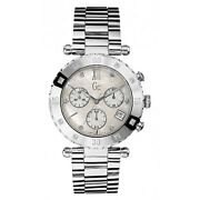 Guess Gc X42108m1s Diver Chic Womenand039s Watch Silver Stainless Steel Casing