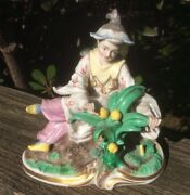 Fine Nymphenburg Porcelain Chinoiserie Figurine West Germany