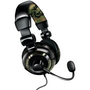 Dreamgear Dgun-2574 Universal Elite Camo Gaming Headset Ps4 Ps3 360 Xbox One Wii