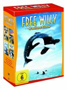 Free Willy Box Collection Teil 1-4 1+2+3+4 Neu Ovp 4 Dvds Komplettbox