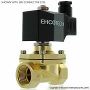 3/4 Npt Brass Solenoid Valve 24v 24vdc Water Air Gas Normally Open N/o
