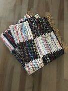 """Area Rug Bought At Abc Carpet And Home, Multi Colored, 6'x3'11"""", Excellent Cond"""