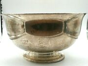 Paul Revere Exemplar By Fina Sterling Silver Large Bowl 909gr 10 Wide 5.5 High