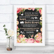 Chalk Pink Peach Shabby Chic Roses Donand039t Post Photos Facebook Wedding Sign
