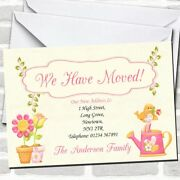 Cute Bird New Home Change Of Address Moving House Cards