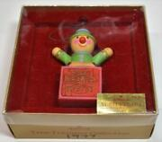 Vintage In Original Box And Tag 1977 Hallmark Yesteryears Ornament Qx1715
