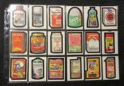 1979/80 Wacky Packages Lot Of 50 Vf/vf+ Toad Loggs Ajerx Cents Yicks Hurtz