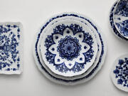 Richard Ginori - Babele Blu - Dishes 36 Pieces For 12 Persons - Dealer