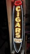 New Cigars Single-sided Neon Sign 18w X 72h - Neon Signs - Lifetime Warranty
