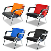 Modern Pu Leather Office Reception Chair Waiting Room Visitor Guest Sofa Seat