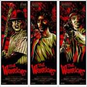 The Warriors By Ken Taylor - Set Of 3 - Rare Sold Out Mondo