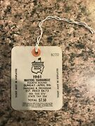 1961 Used Masters Golf Badgevery Very Rare Ticketgary Player2 Pairing Sheets