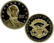 Abraham Lincoln Commemorative Coin Proof Lucky Money Value 99.95