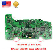 New Mmi Multimedia Control Circuit Board With Navigation For Audi Q7 2010-2015