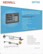 Newall 2 Axis Digital Readout Dp700 Mill Package 12x30 Dr0 Kit Dp70021100/2