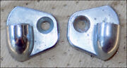 Chrome Pivot Brackets For The Interior Door Pull On Your Austin Healey