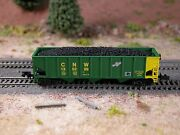 Hay Brothers Flood Loaded Coal Load - Fits Athearn And Mdc/roundhouse 40' Hoppers