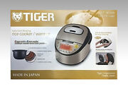 Tiger Copper 5 Layers Far Infrared Special Thick Rice Cooker Jkt-w18w 220v Jpn