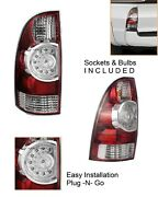 New Replacement Driver Left Side Led Tail Brake Light For 2005-15 Toyota Tacoma