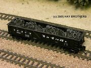 Hay Brothers Scrap Auto Tires Load - Fits Dimi-trains And Intermountain Gsc Gons
