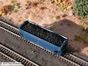 3-pack Of Hay Brothers Lump Raw Coal Loads - Fits Atlas 2-bay Os Hopper Cars