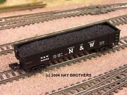 3-pack Of Hay Brothers Coal Load - Fits Your Atlas And Bachmann 42 Foot Gondolas