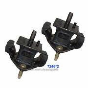 Left And Right Engine Motor Mount Pair 72632 M416 For 91-97 Toyota Previa 2.4l