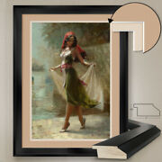 32wx44h Fatima In The Alchemist By Andrew Jarvis - Double Matte Glass And Frame