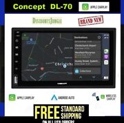 Concept Dl-70 Wireless 7 Touch Screen In-dash Receiver W/apple Carplay/android