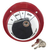 Pactrade Marine Boat Dual Battery Selector Disconnect Switch W/ Lock 250a 6-32v