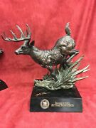 Friends Of The Nra 2010 Sponsor Big Game Statue Whitetail Deer 0006