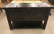Pottery Barn Maddox Bar Console Table Sold Out @pb Brand New