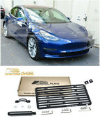 Eos For 17-up Tesla Model 3 Full Sized Front Tow Hook License Plate Holder