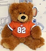 New Dave And Busters Dandb Teddy 82 Football Jersey Stuffed Bear 10andrdquo Plush Doll Nw