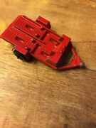 Vintage Tootsie Toy 1969 Metal Diecast Double Motorcycle Red Trailer Chicago