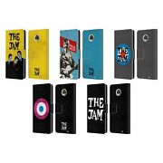 Official The Jam Key Art Leather Book Wallet Case Cover For Motorola Phones