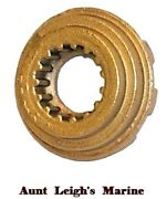 Brass Propeller Castle Washer Mercury V6 2-cycle 135-275 Hp 18-3714 12-31211a2