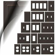 Aged Bronze Switch Plate Cover Steps Wallplate Duplex Outlet Toggle Rocker Gfci