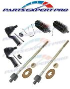 90-97 Mazda Miata Tie Rod End Inner And Outer Set And Steering Boot Kit With P/s