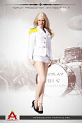Acplay 16 Lady Girls' Generation Uniform White For Phicen, Very Cool Figure 30a