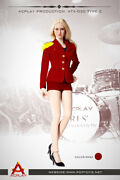 Acplay 16 Lady Girls' Generation Uniform Red For Phicen, Very Cool Figure 30c