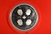 Four Governors General Medallion 48.6 Gr. Silver Coin
