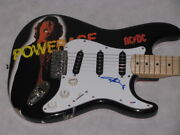 Acdc Angus Young Hand Signed Guitar + Psa Dna Coa Buy Genuine