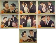 Free And Easy,robert Cummings,ruth Hussey, Set Of 7,lc1039