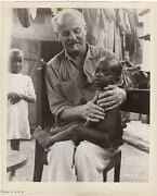 Director Darryl Zanuck With A Child Sitting On His Laps