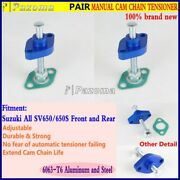 2pcs Motorcycle Manual Cam Chain Tensioner Adjuster For Suzuki All Sv650/650s