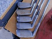 Rare Vintage Rh Ben Hogan Apex 3 5 7 And 9 Iron And Equalizer Wedge 149