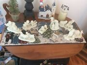 Lot Of 7 vintage Dept 56 Snowbabies - All With Original Boxes/ Packaging - Euc